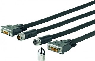 VIVOLINK - Pro DVI-D Cross Wall cable 10M - PRODVICW10